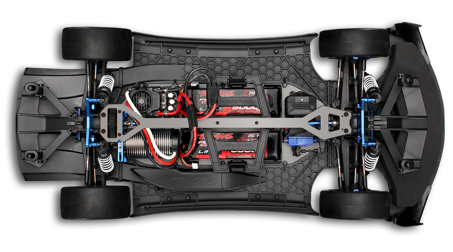 XO-1 Brushless Traxxas 6407-top-chassis