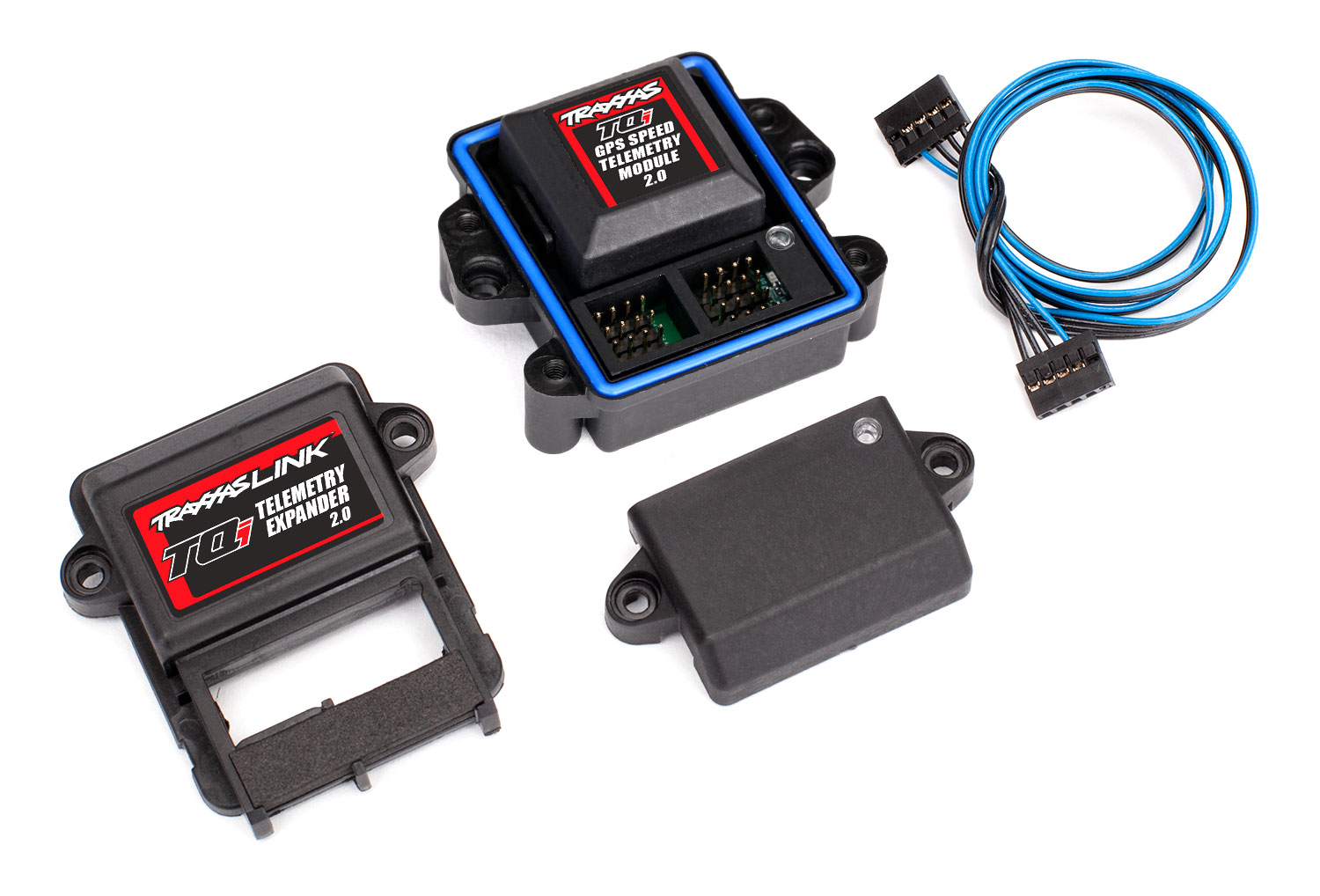 Telemetry expander 2 0 and GPS module 2 0, TQi radio system | Traxxas