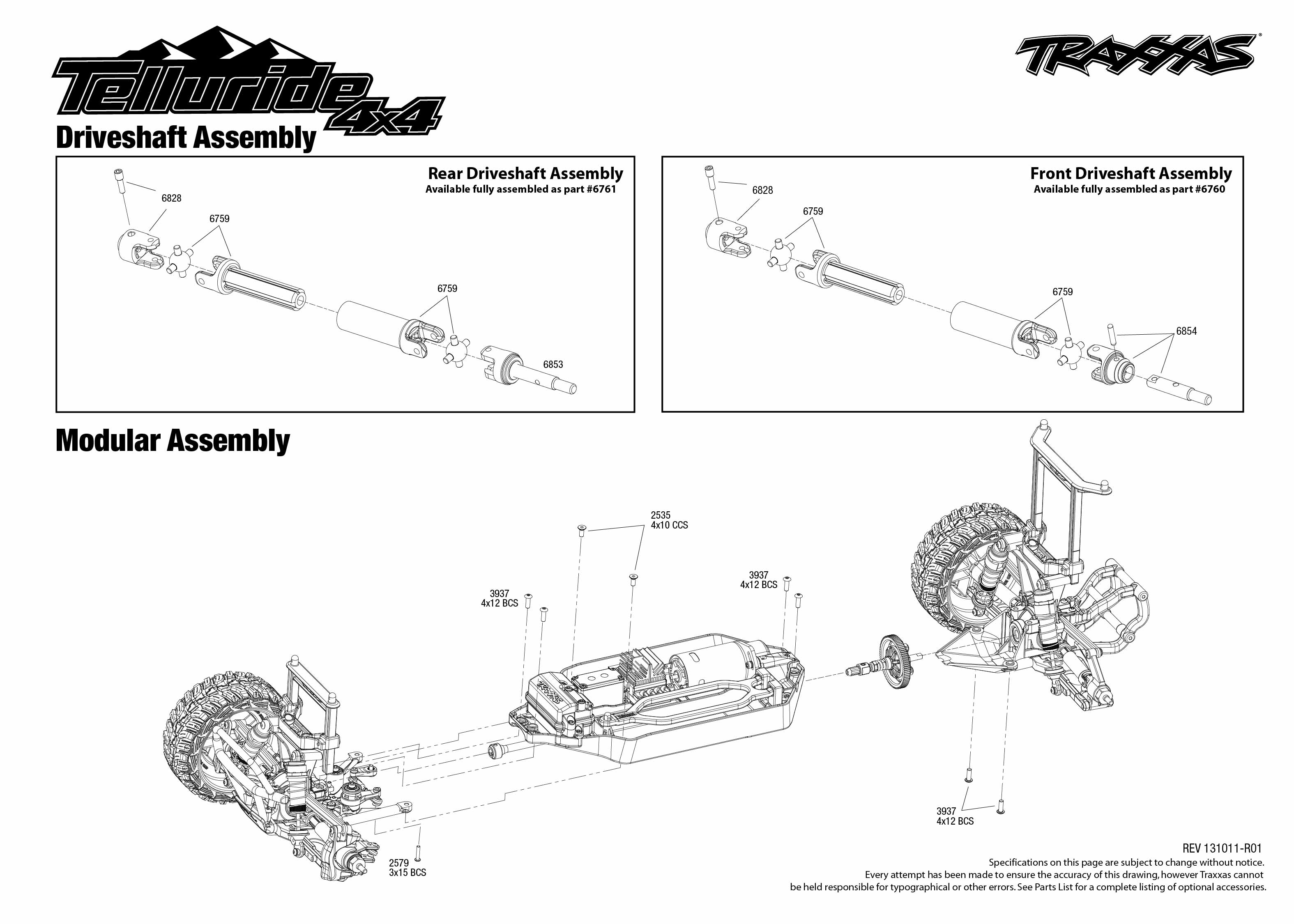 Traxxas Telluride Parts Diagram Experience Of Wiring 4x4 67044 Driveshafts Assembly Rh Com 33 Engine Manual