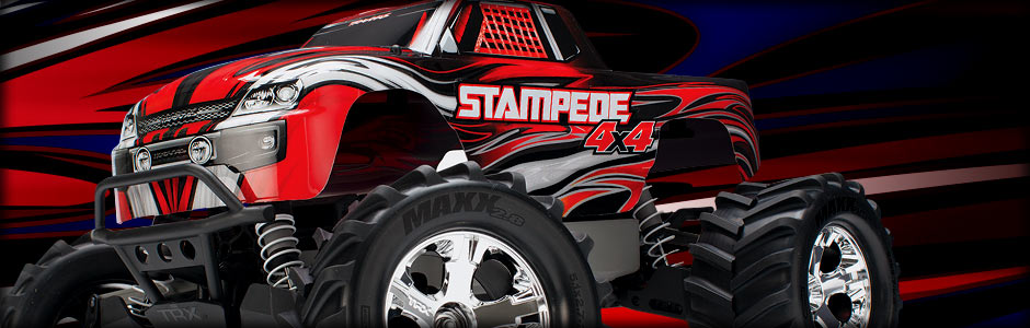 Stampede 4X4 (Red)
