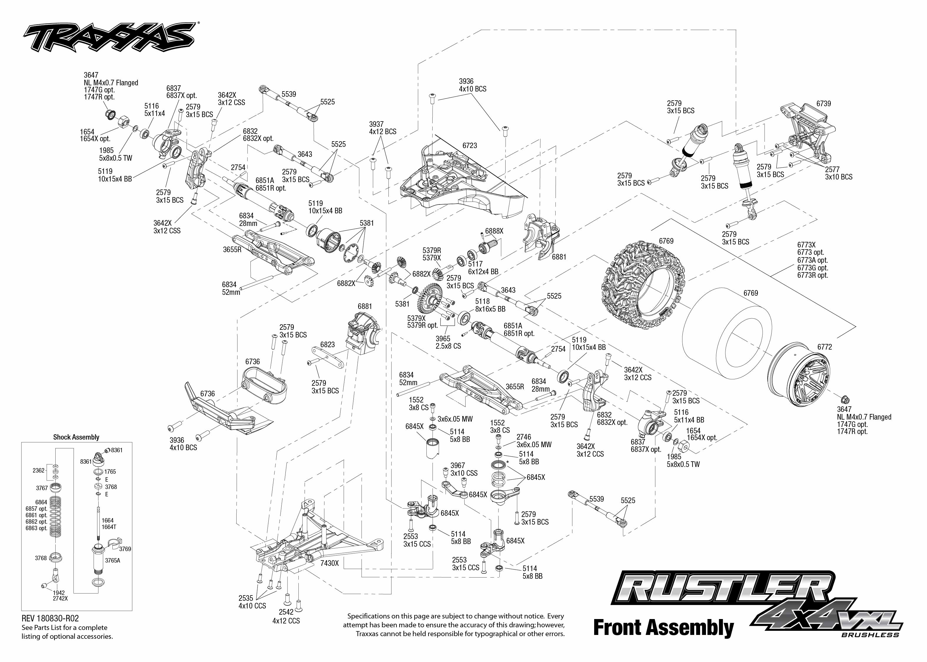 Top Five Traxxas Rustler Vxl Assembly Manual - Circus
