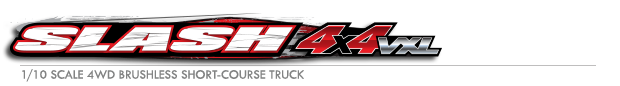 Slash 4X4: 1/10 Scale 4WD Electric Short Course Truck with TQi Traxxas Link Enabled 2.4GHz Radio System Logo