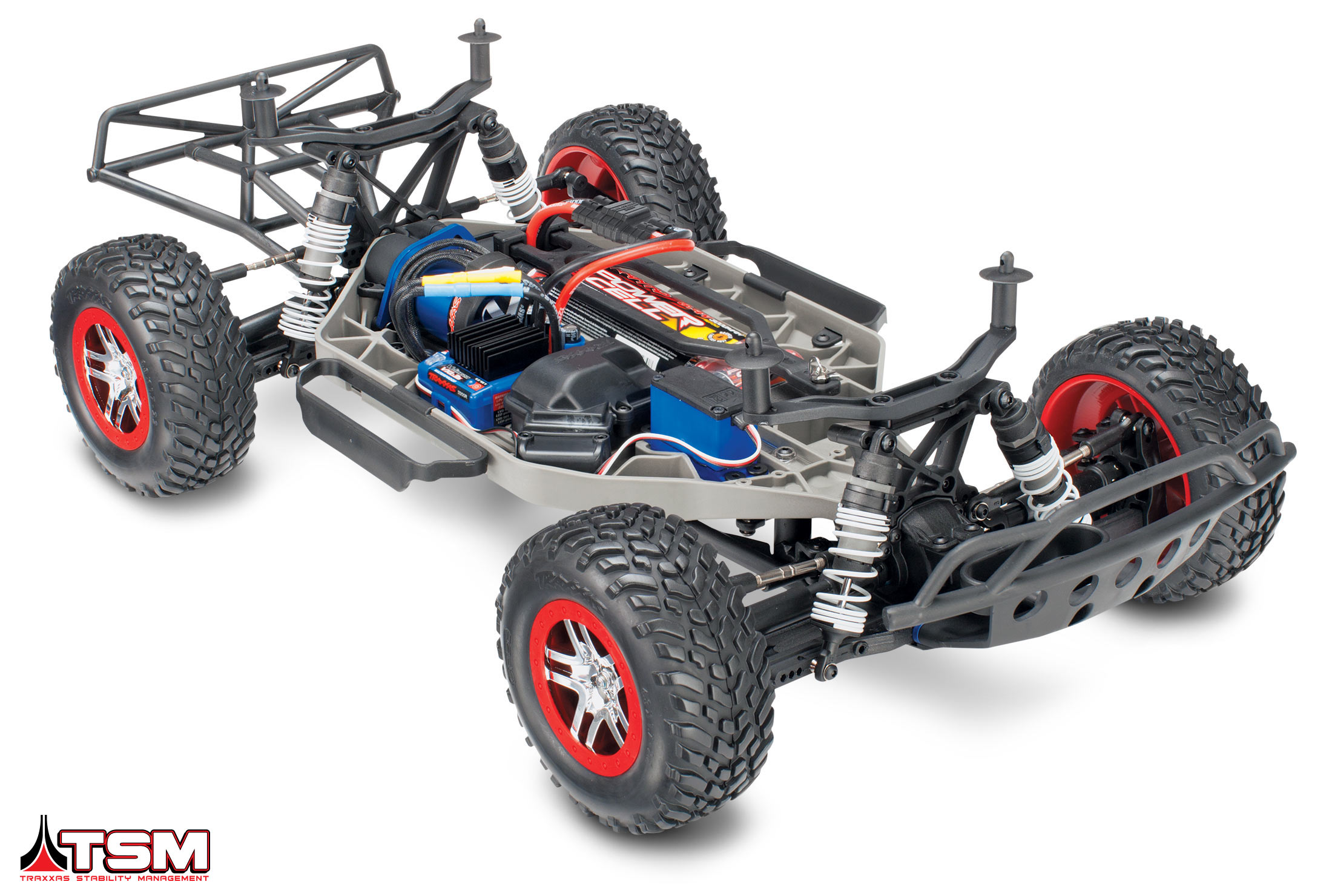 3 Slash4x4 chassis 3qtr BAtteryiD