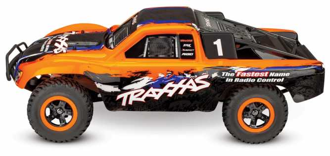Slash 4X4: 1/10 Scale 4WD Electric Short Course Truck with