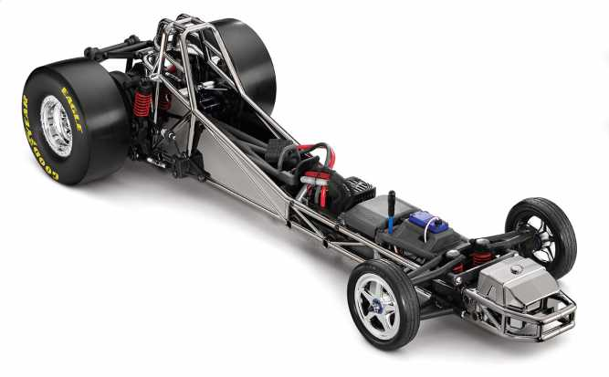 Funny Car: 1/8-Scale Funny Car Dragster with TQi 2 4GHz radio system