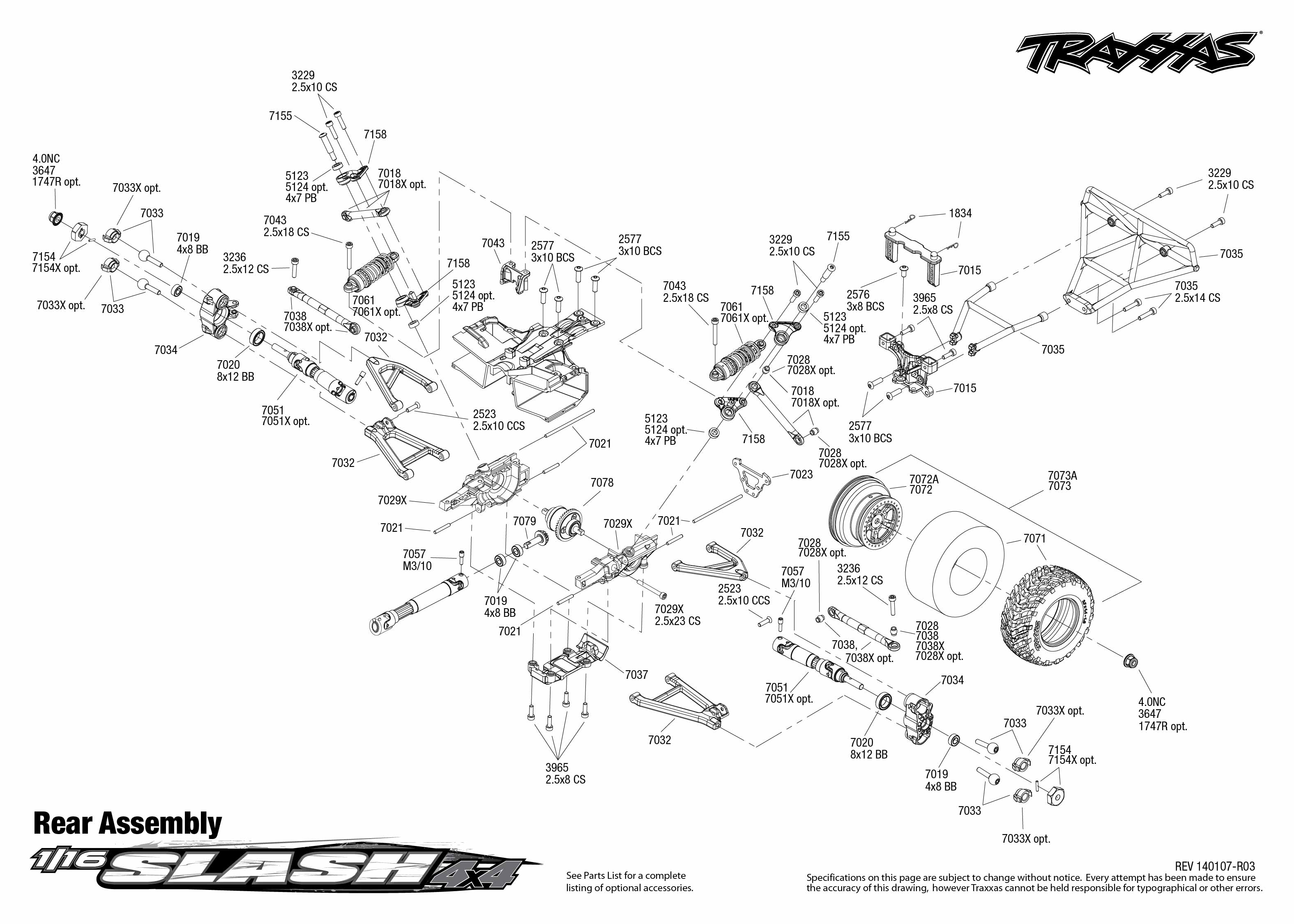traxxas slash slipper clutch diagram traxxas slipper clutch adjustment   elsavadorla traxxas slash 2wd parts list pdf traxxas slash 2wd parts diagram pdf