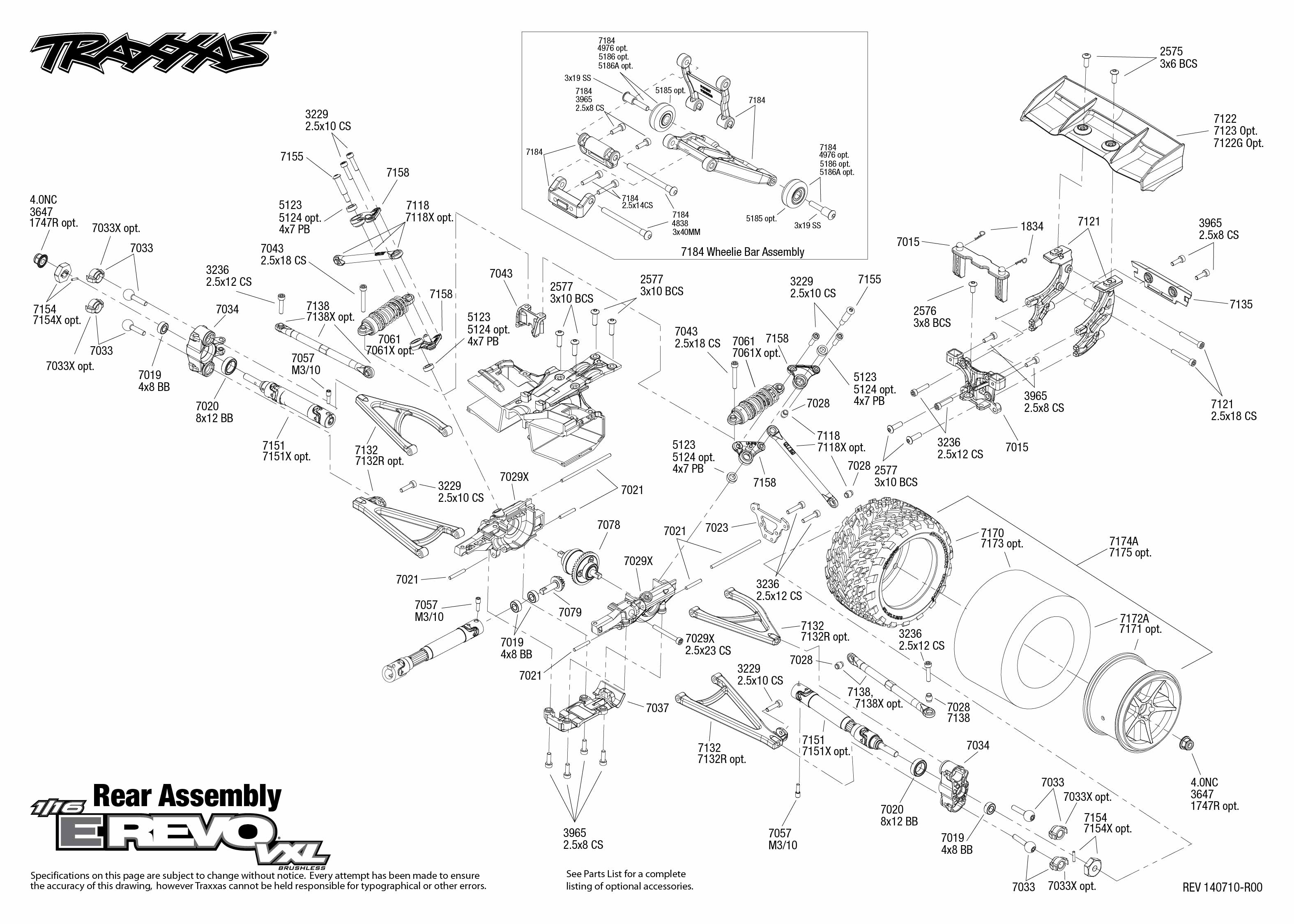 Revo 3 Wiring Diagram Library Traxxas Slash 4x4 Parts Lzk Gallery Likewise 1 16 E Trusted Diagrams U2022 Transmission