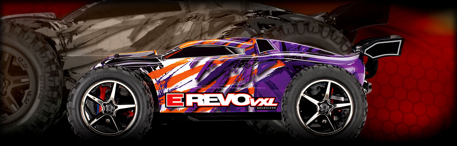 1/16th E-Revo VXL (#71076-3) Purple