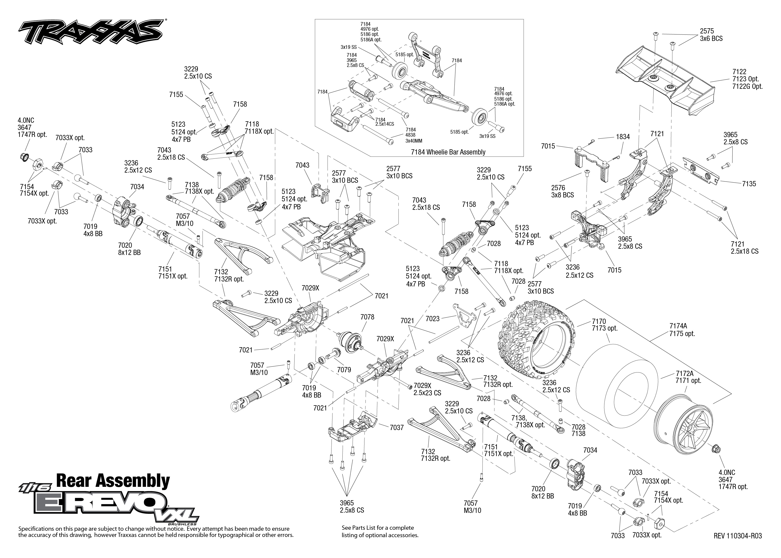 traxxas e maxx parts diagram