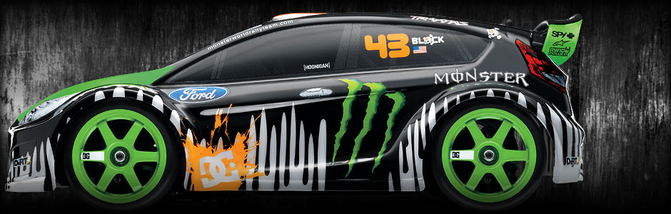 7309kenblock splash TRAXXAS 1/16 RALLY with Ken Block/Monster Energy Graphics is coming!