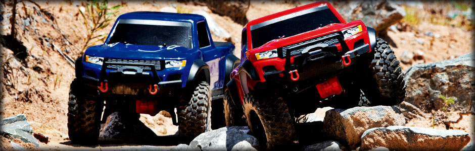 TRX-4 Sport (Blue and Red)