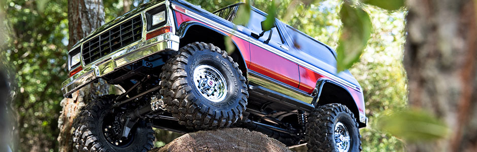 1979 Ford Bronco Red
