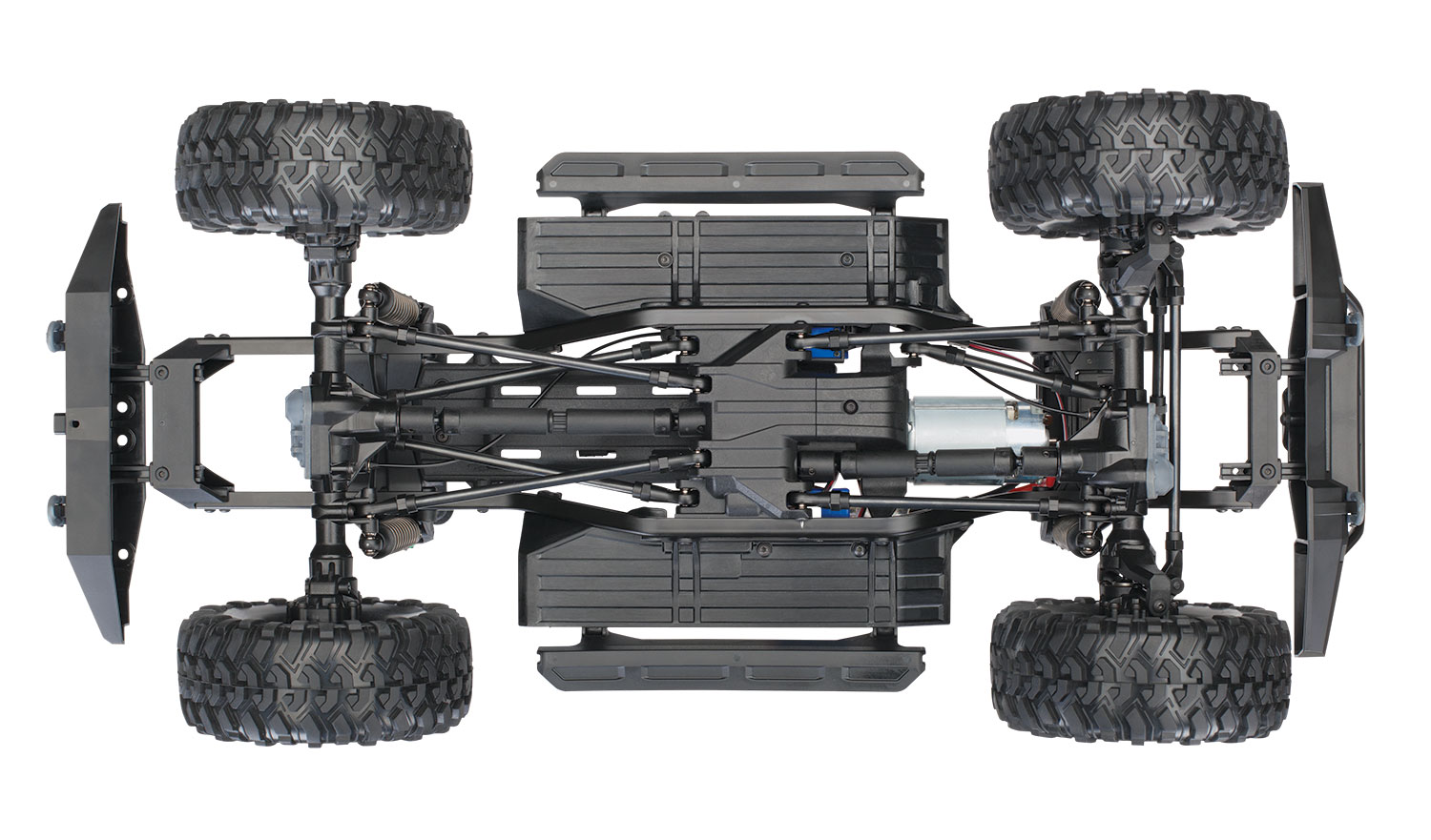 Traxxas TRX-4 1/10 Scale And Trail Crawler - Page 6 82056-4-Defender-Chassis-bottom