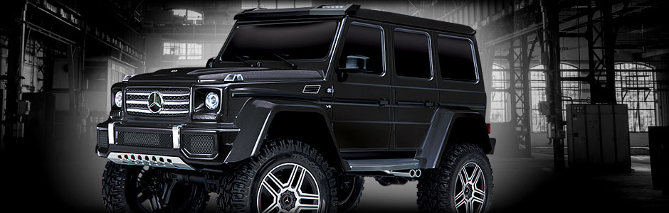 Mercedes-Benz G 500 4x4² (Black)