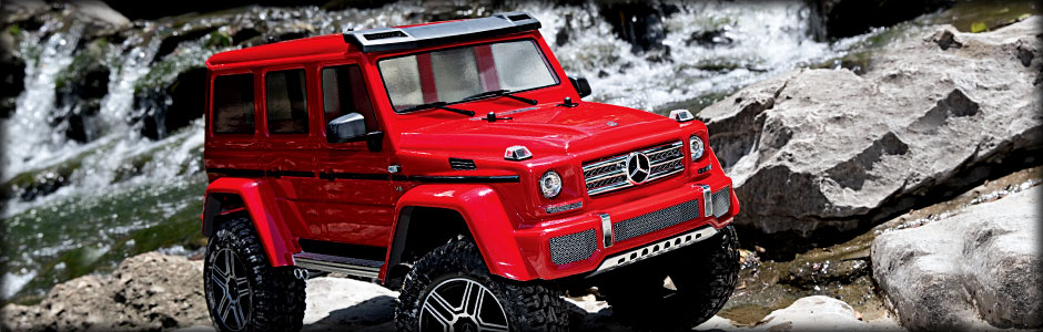 Mercedes-Benz G 500 4x4² (Red)