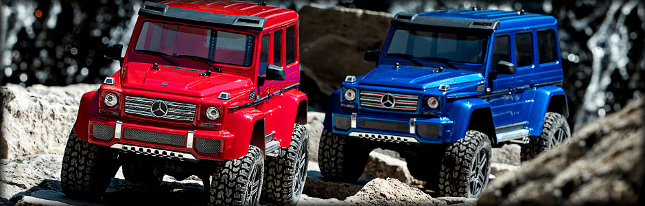 Mercedes-Benz G 500 4x4² (Blue)