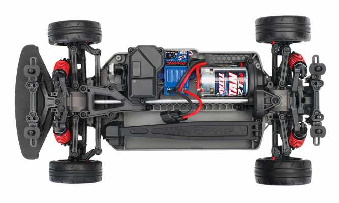 4-Tec® 2 0: 1/10 Scale AWD Chassis with TQ 2 4GHz Radio
