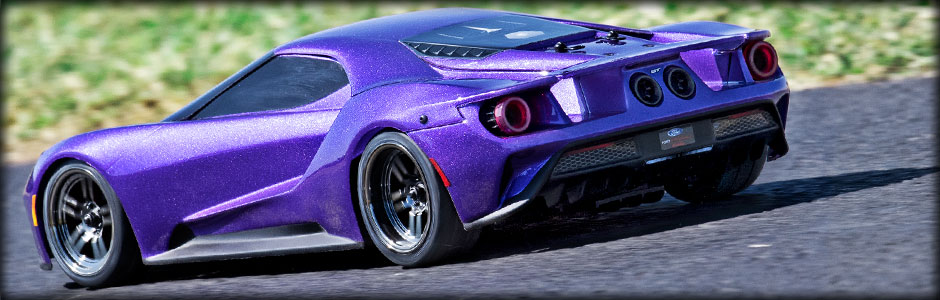 Ford GT Purple