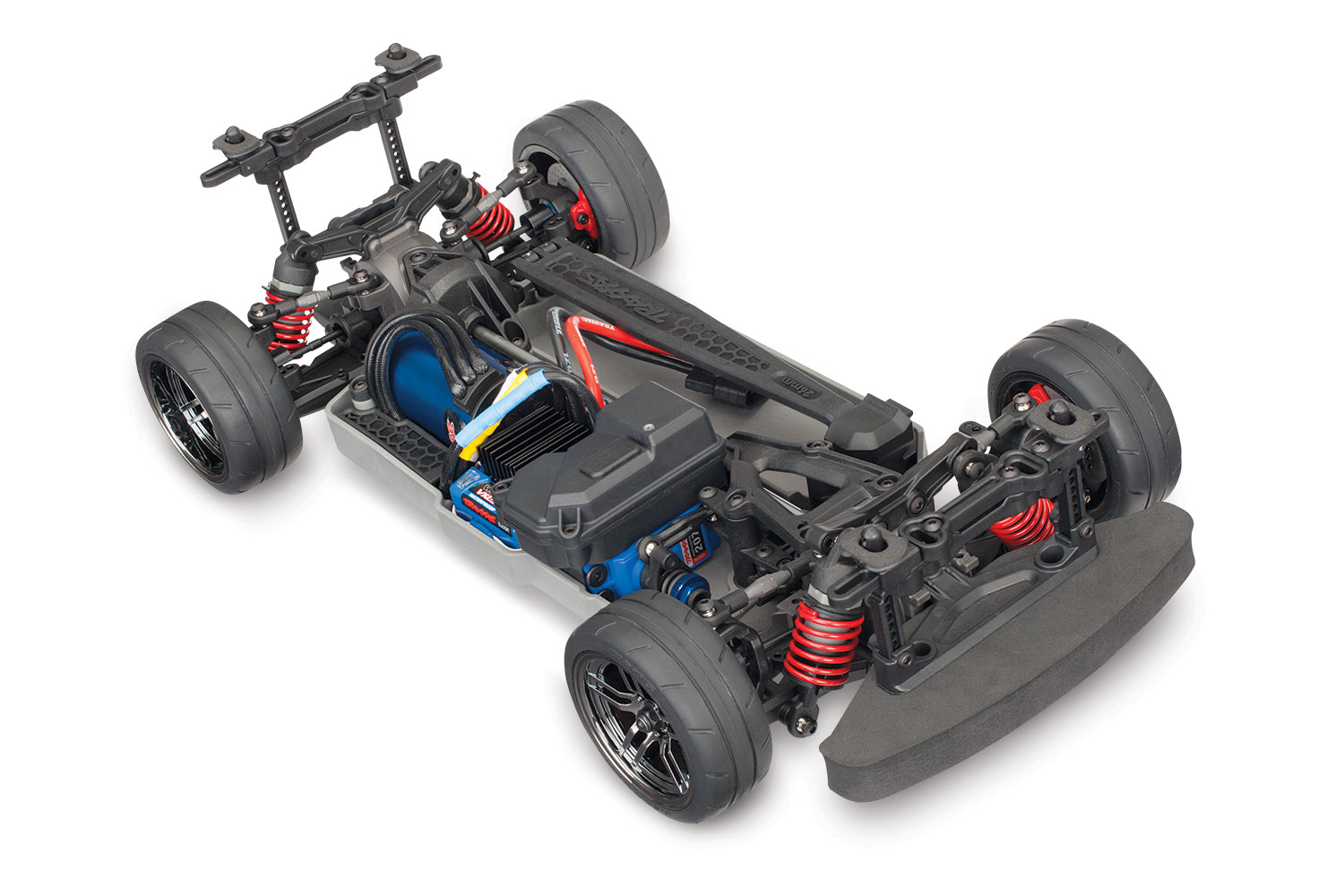 4-Tec® 2 0 VXL: 1/10 Scale AWD Chassis with TQi Traxxas Link