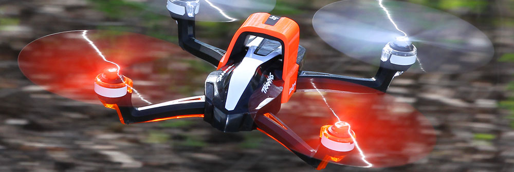 Orange Traxxas Aton Quadcopter