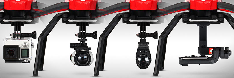 Camera Options for the Aton Quadcopter