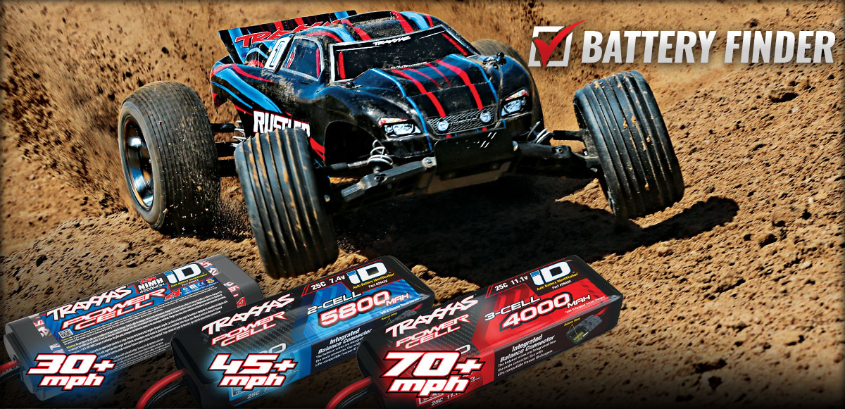 Find Traxxas Batteries For Your Model