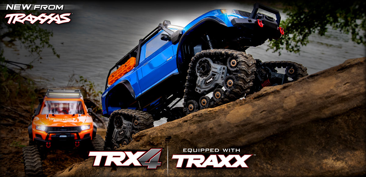 TRX-4 Equipped with TRAXX