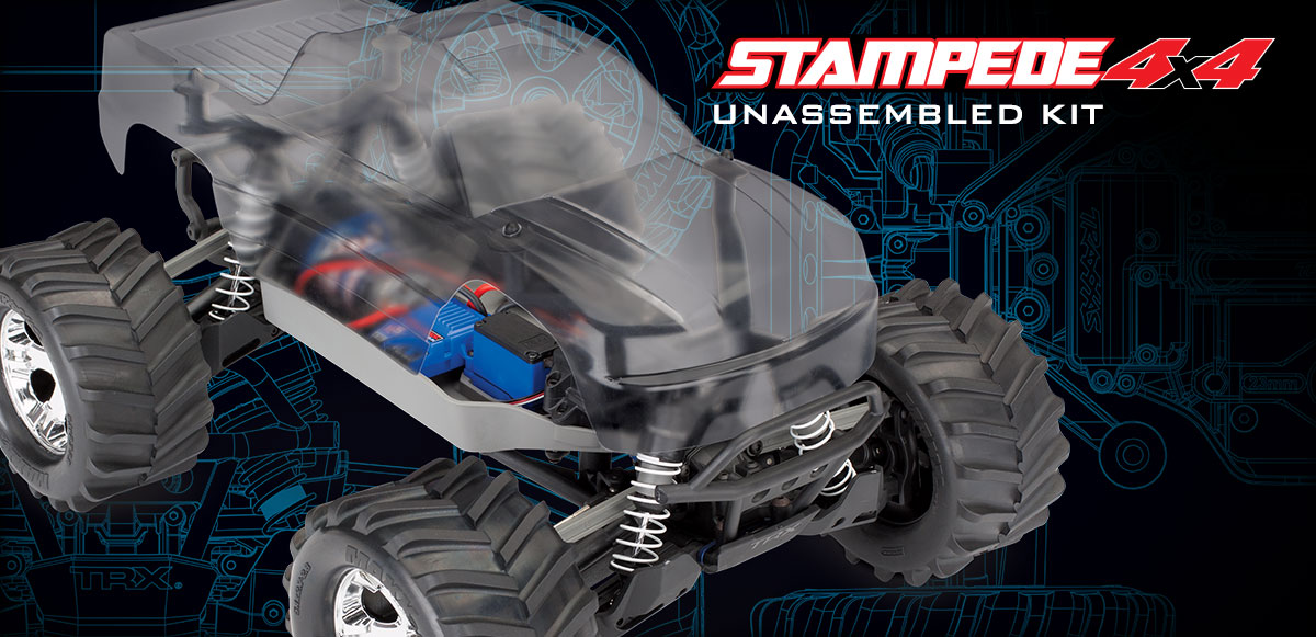 Stampede 4X4 Kit (#67014-4) with Electronics