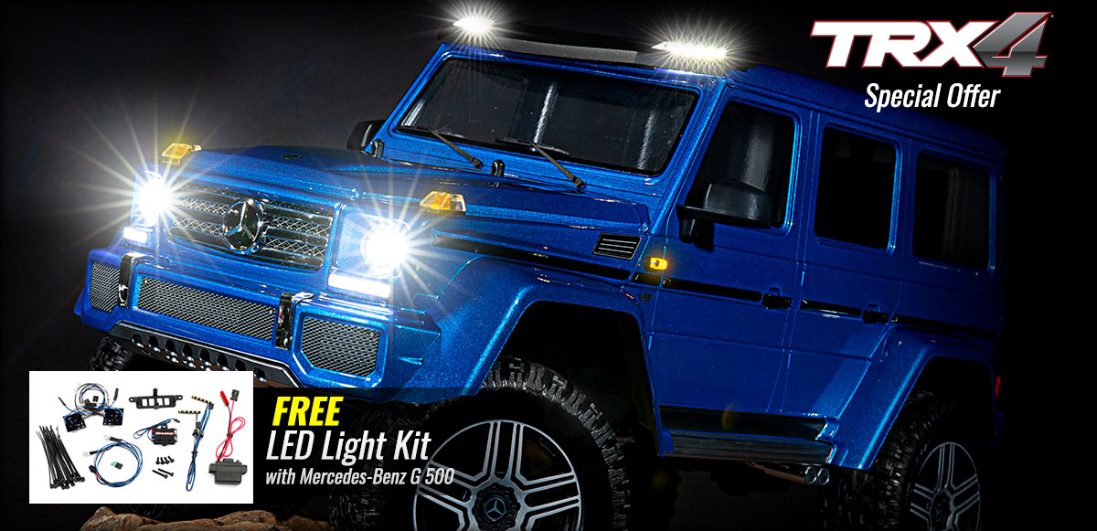 FREE LED Light Kit with Mercedes-Benz G 500