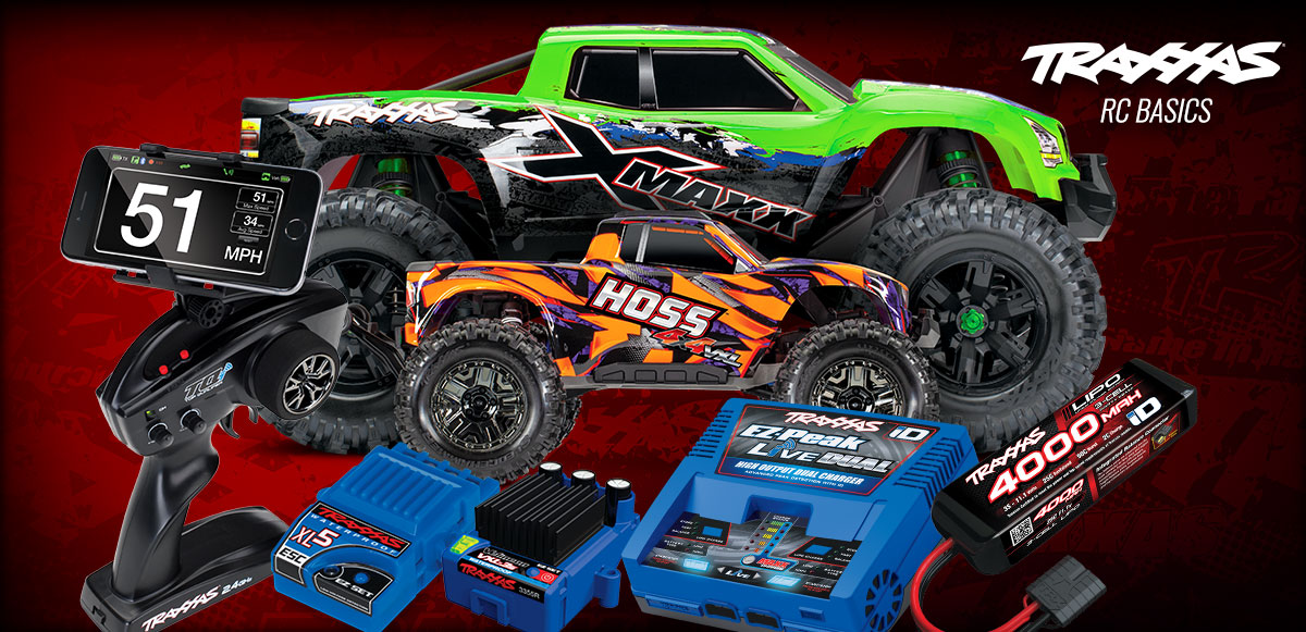 Get started in RC the right way with Traxxas!