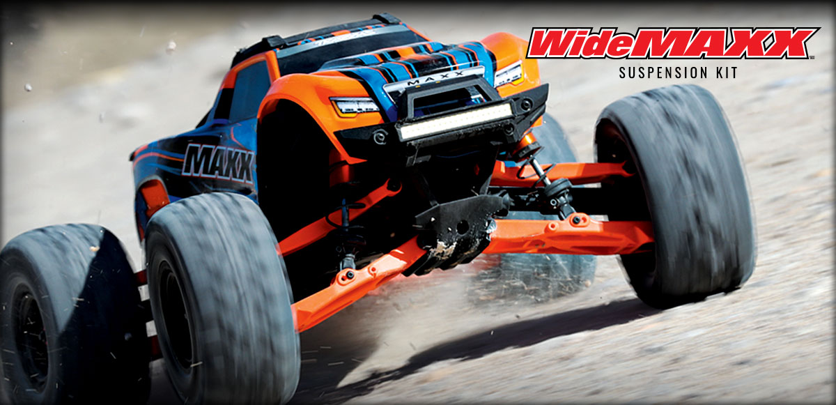 Ultimate Handling for the Traxxas Maxx