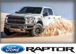 2017 Ford F-150 Raptor (full-size truck)