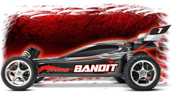 silver bandit side view