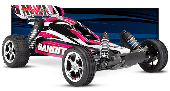 Bandit (#24054-1) Low Three-Quarter View (Pink)