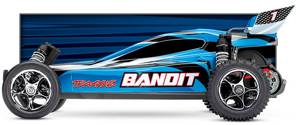blue bandit side view