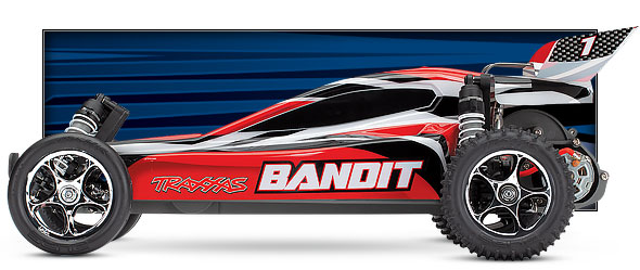 red bandit side view