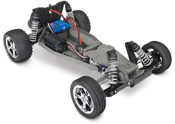 bandit three quarter chassis view