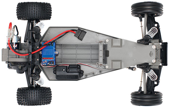 overhead chassis view