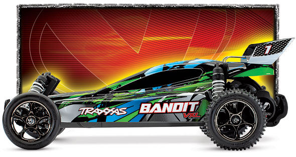 Bandit (#24076-4) Side View (Green)