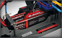 LiPo Power Cell Battery #2857 installed