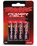 Packaging - Traxxas Power Cell AA Alkaline Batteries (#2914)