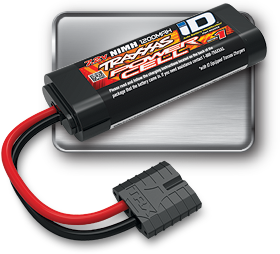 NiMH iD Power Cell Battery (#2925X) (Series 1, 6-Cell Flat, 2/3A, 1200mAh)