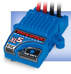 XL-5 Waterproof Electronic Speed Control (#3018R) (2014) (with LVD)