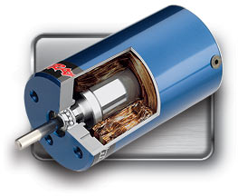 Velineon 380 Brushless Motor (#3371) (cut-away view) (on 1/16th models) (2013)
