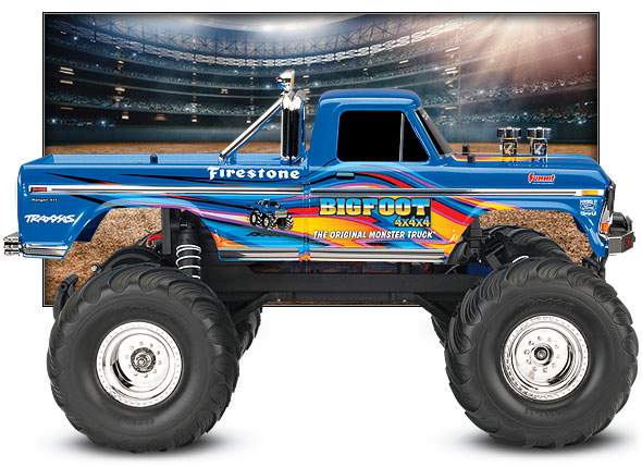 BIGFOOT No. 1 Special Edition (#36034-1) Side View