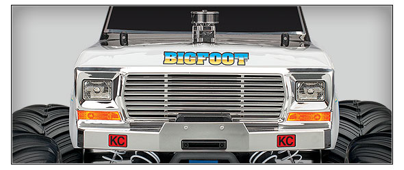 BIGFOOT No. 1 Special Edition (#36034-1) Straight Front View