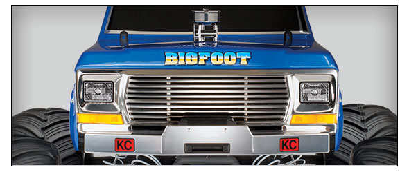 Bigfoot Classic (#36034-1) Straight Front View