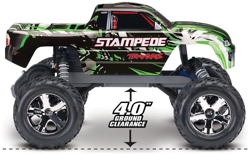 Stampede (#36054-1/#36054-4) Ground Clearance (Green)