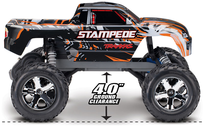 Stampede (#36054-1) Ground Clearance (Orange)