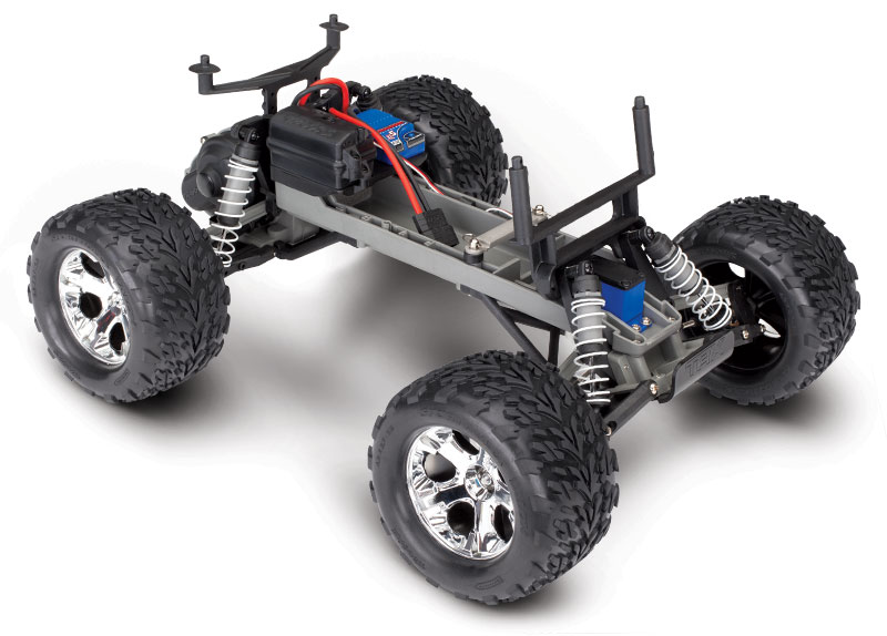 Stampede Chassis Three-Quarter View